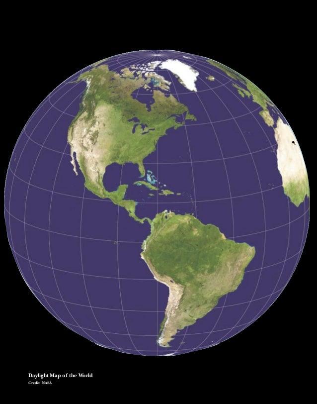 64Daylight Map of the WorldCredit: NASA