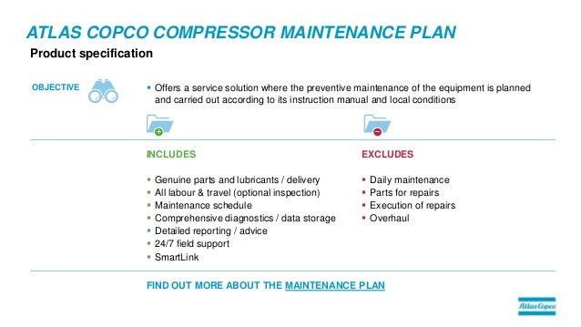 air compressor service plans by atlas copco rh slideshare net atlas copco air compressor troubleshooting manual atlas copco compressor service manual pdf
