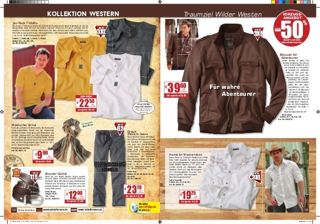 KoLLEKTioN WESTErN Traumziel Wilder Westen VORZUGS-ANGEBOT  3er-Pack T-Shirts  Bei diesen 3 T-Shirts im Henley-Stil schlie...