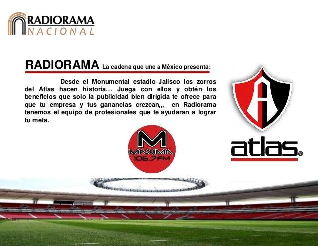 RADIORAMA La cadena que une a México presenta: Desde el Monumental estadio Jalisco los zorros del Atlas hacen historia… Ju...