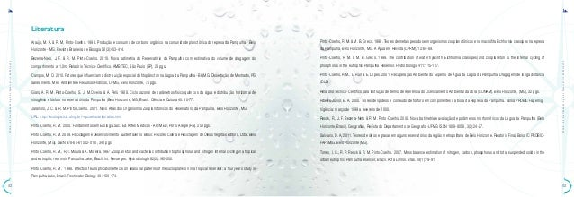 ATLAS•daQualidadedeÁguadoReservatóriodaPampulhaATLAS•daQualidadedeÁguadoReservatóriodaPampulha5352LiteraturaAraújo, M. A. ...