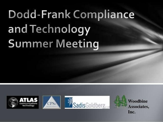 Woodbine Associates, Inc.