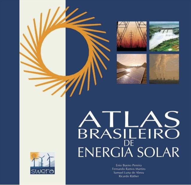 Fundo Global para o Meio Ambiente Global Environment Facility Avaliação dos Recursos de Energia Solar e Eólica Solar and W...