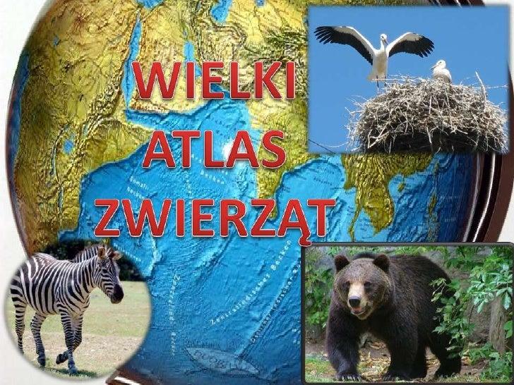WIELKI <br />ATLAS<br />ZWIERZĄT<br />