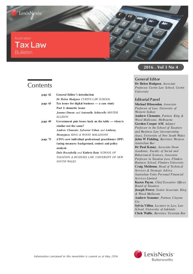 tax issues essay An overview of the income tax main residence exemptions as they relate to property development activities  income tax issues in property development author(s .