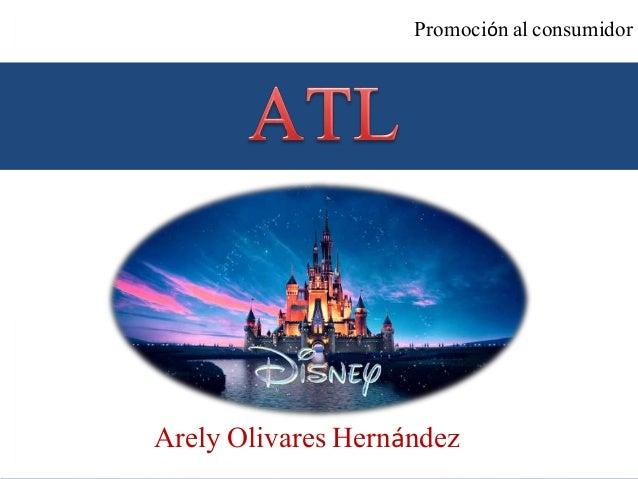 Arely Olivares Hernández Promoción al consumidor