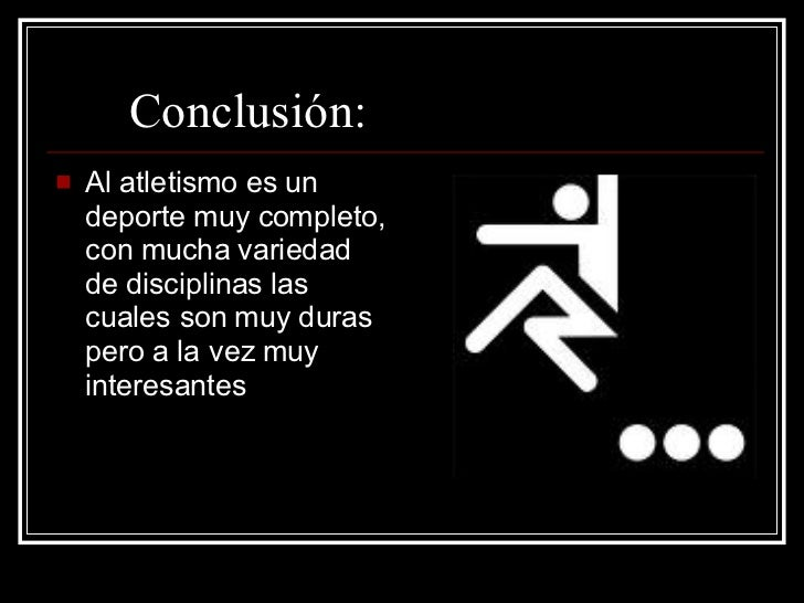 Atletismo for Conclusion de un vivero