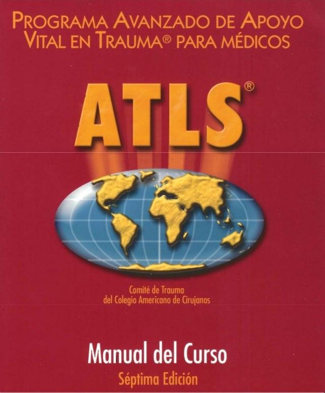 Atls  -apoyo vital avanzado en trauma para médicos- pdf