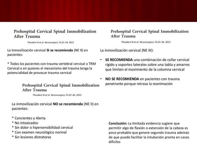 3. Circulación con control de hemorragia • Volumen sanguíneo y GC • La mortalidad por hemorragia es prevenible. • Estado d...