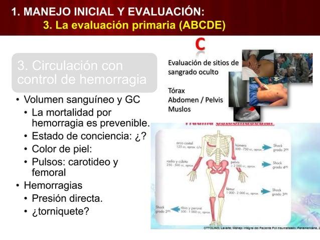 1. MANEJO INICIAL Y EVALUACIÓN: 4. La reanimación 1. Vía aerea 2. Respiración, ventilación y oxigenación • Intubación endo...