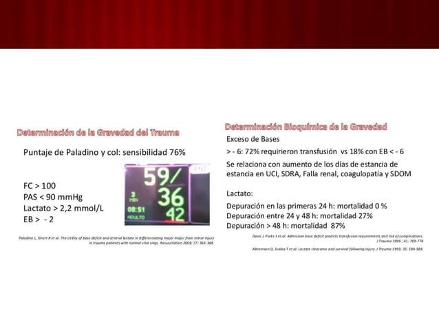 1. MANEJO INICIAL Y EVALUACIÓN: 5. Auxiliares de la eval. primaria y reanimación Monitoreo cardiaco • Lesión cardiaca por ...