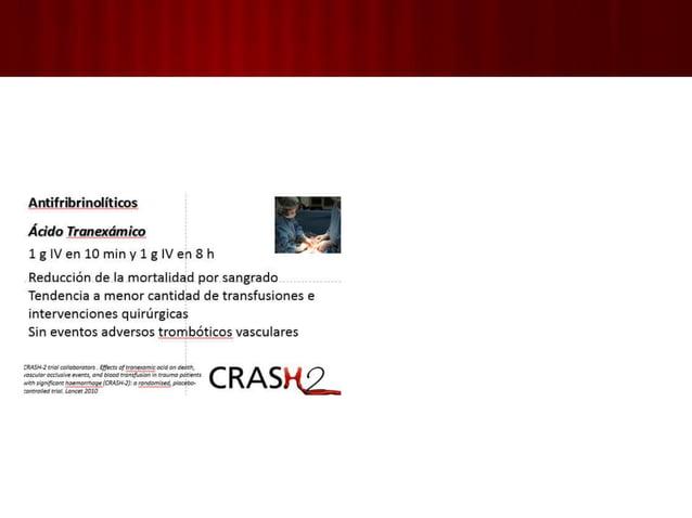 1. MANEJO INICIAL Y EVALUACIÓN: 6. Evaluación secundaria Cabeza  pies. Historia clínica. Examen físico completo. Lect...