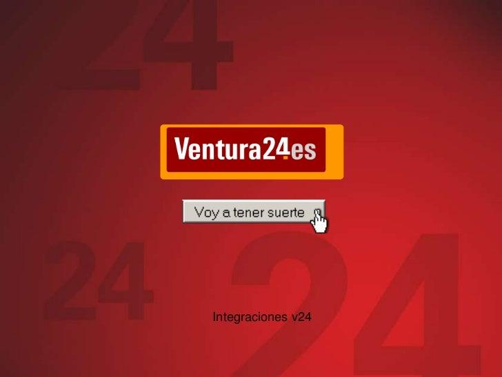 Integraciones v24<br />