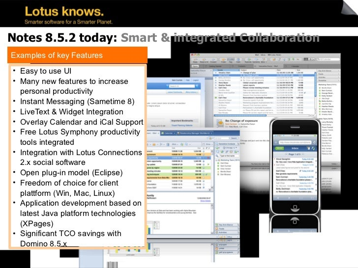 Lotus Notes And Domino Update November 2010