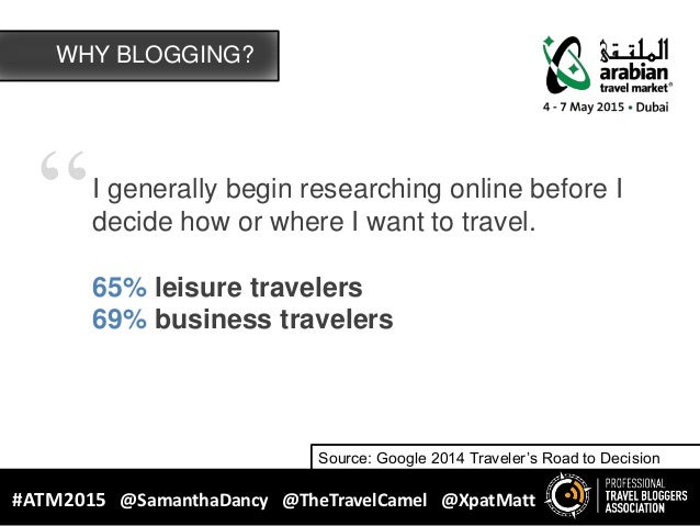 """""""I generally begin researching online before I decide how or where I want to travel. 65% leisure travelers 69% business tr..."""