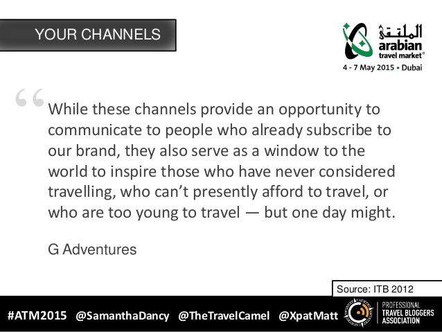 """""""While these channels provide an opportunity to communicate to people who already subscribe to our brand, they also serve ..."""