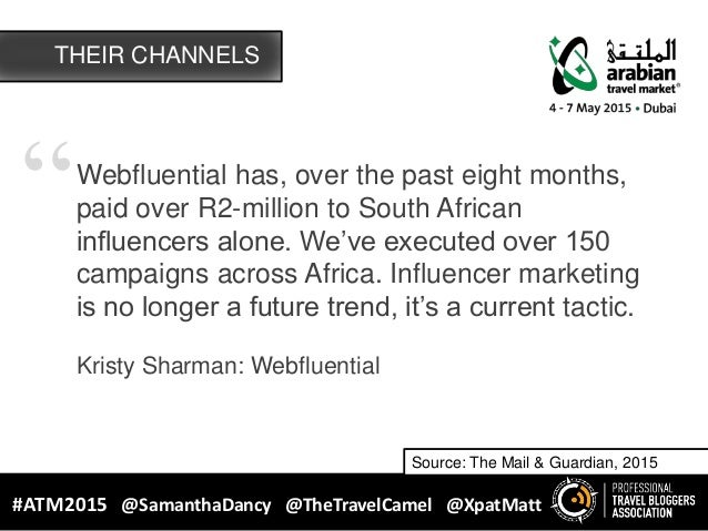 """""""Webfluential has, over the past eight months, paid over R2-million to South African influencers alone. We've executed ove..."""