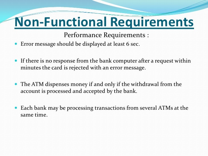software engineering project on atm machine