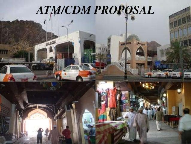 ATM/CDM PROPOSAL