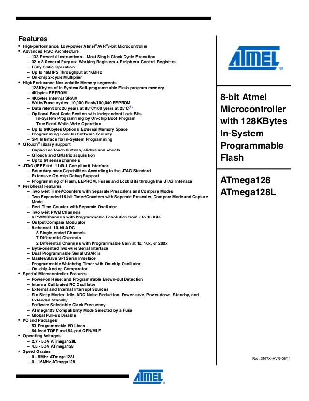 Pdf atmega128 datasheet
