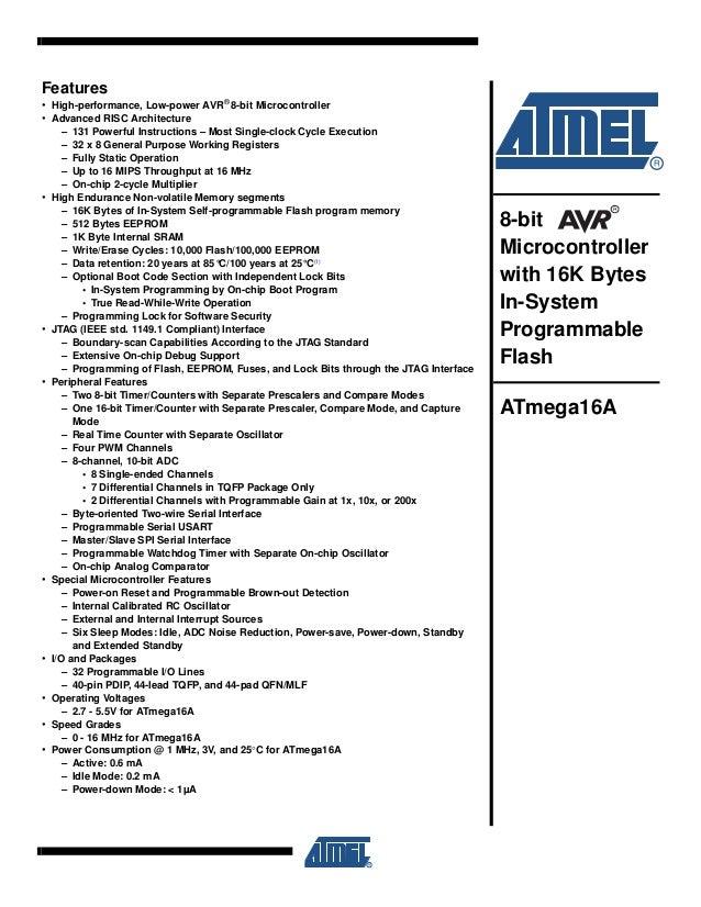 atmega128 datasheet на русском pdf