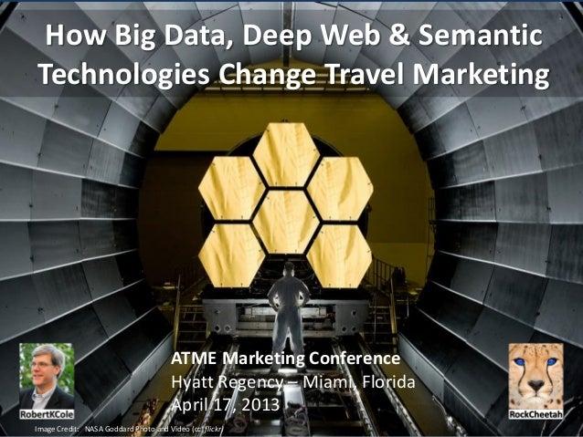 How Big Data, Deep Web & SemanticTechnologies Change Travel Marketing                                       ATME Marketing...