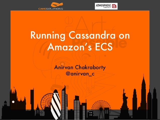 Running Cassandra on Amazon's ECS