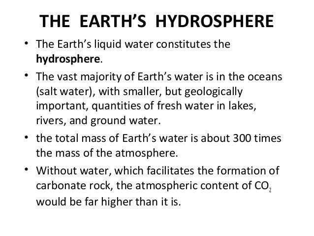 Atmosphere, hydrosphere, and lithosphere (1)