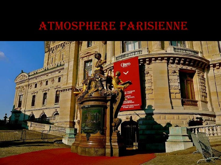 Atmosphere parisienne