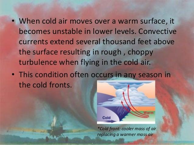 Turbulence penetration speed