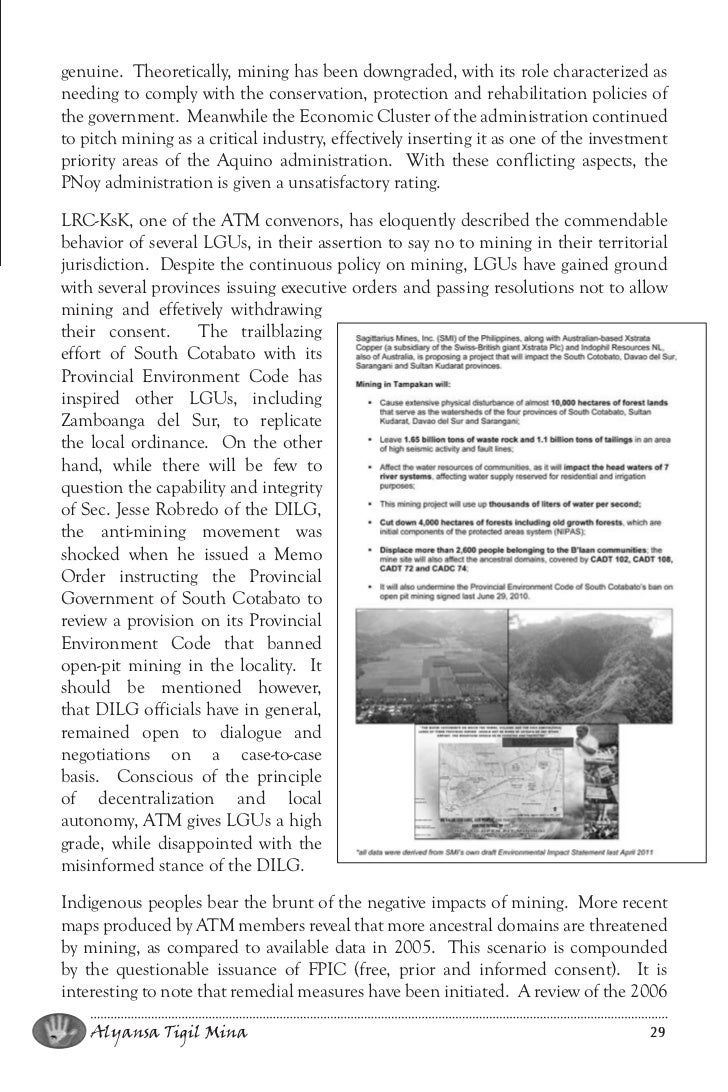 mining in the philippines essay A usgs publication on the history of gold uses, gold mining, gold prospecting, assays and gold production.