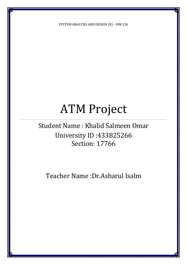 Atm project