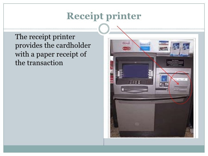 essay on automated teller machine Invention story of atm  he owned to his credit the invention of a portrait camera and then rolled out the formulated idea of atm, the automated teller machine.
