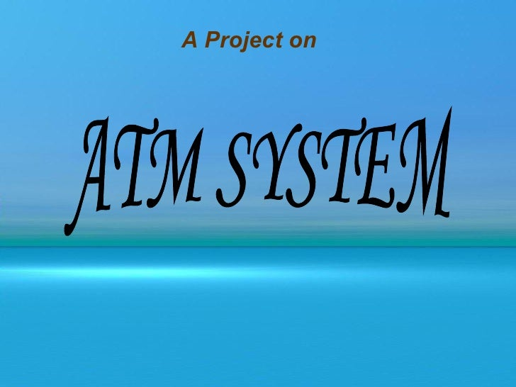 atm project in java code
