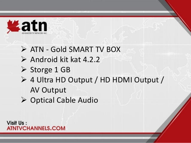 Arabic IPTV Receiver TV Channels -TV BOX -Gold
