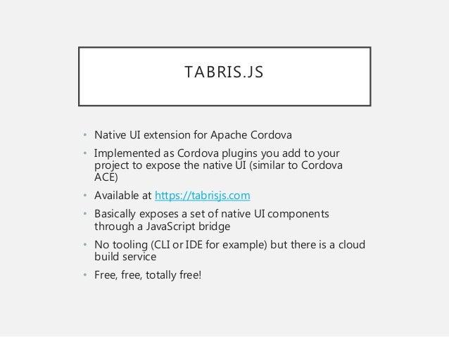 Cross-platform Mobile Development on Open Source