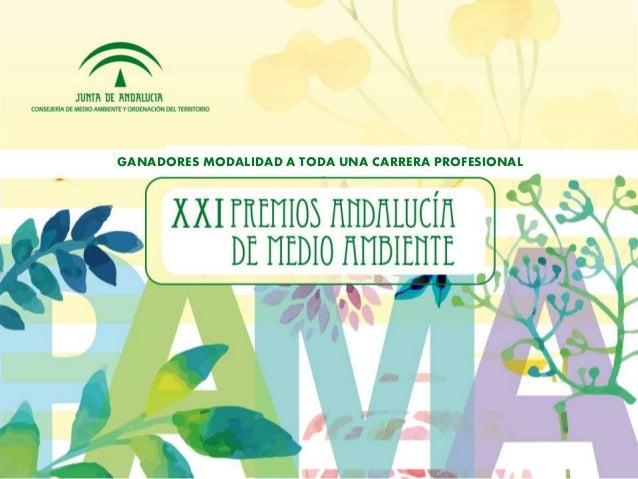 GANADORES MODALIDAD A TODA UNA CARRERA PROFESIONAL