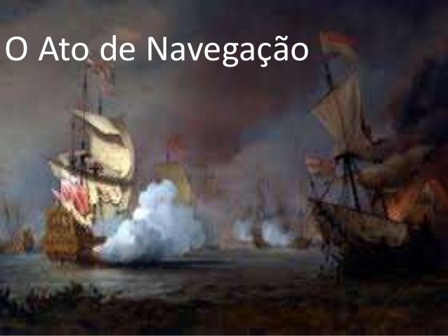 O Ato de Navegação