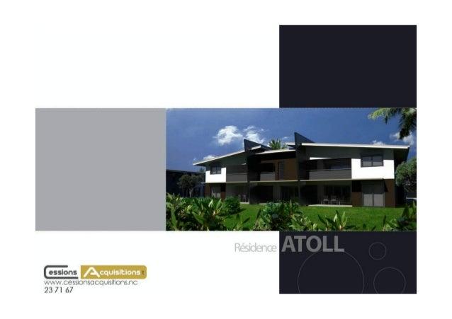 Résidence ATOLL 2