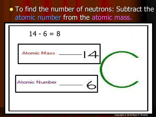 Atomic Mass, Atomic Number, Isotopes, Physical Science