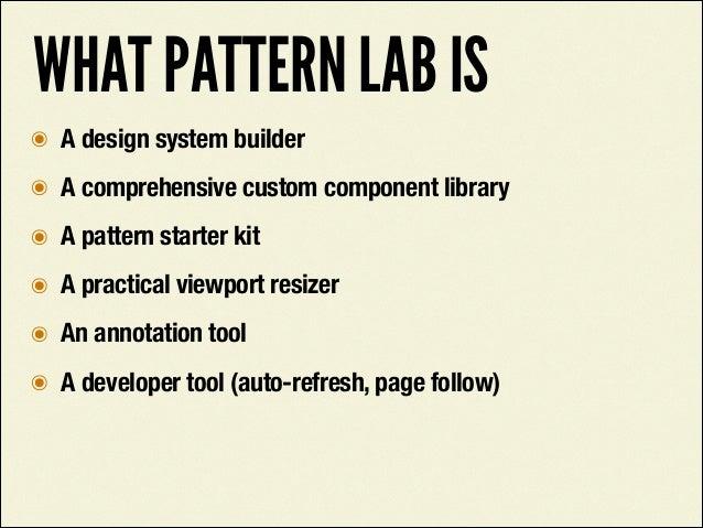 http://pattern-lab.info