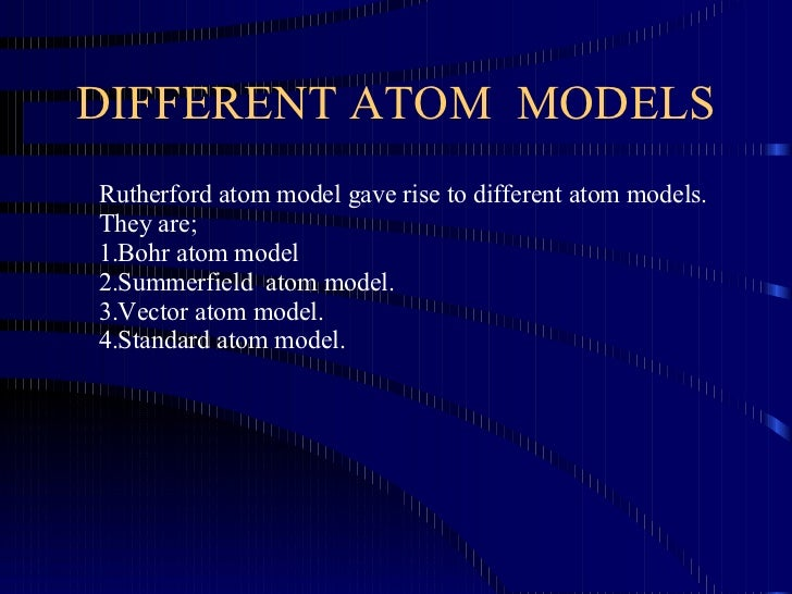 Atomic structure 10 different atom models rutherford atom model ccuart Image collections