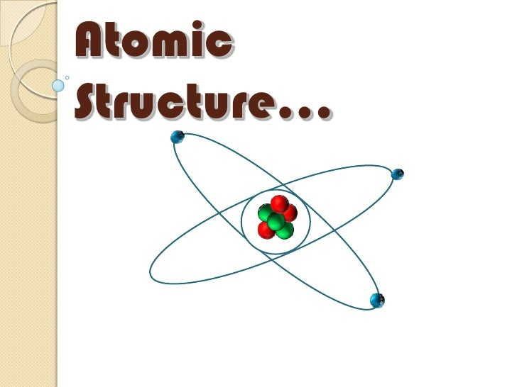 Atomic Structure…<br />