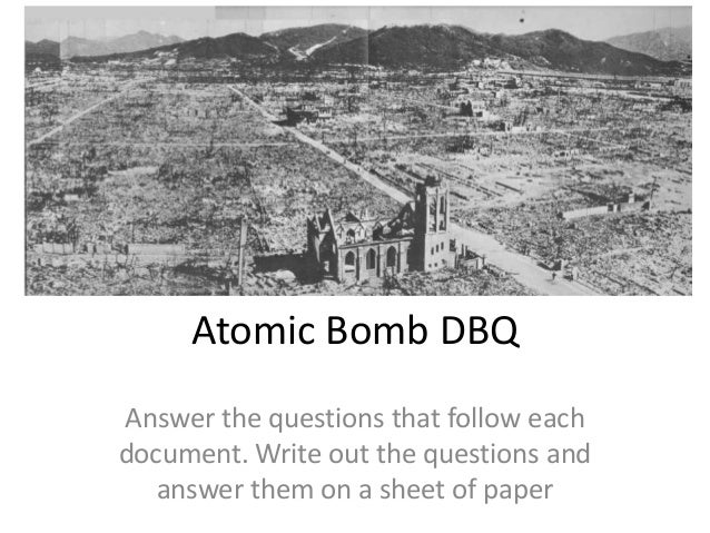 atomic bomb justified essay Was the dropping of the bomb justified ww2 came to an end on august 6, 1945 when an american bomber, enola gay, dropped the world's first atomic bomb on the.