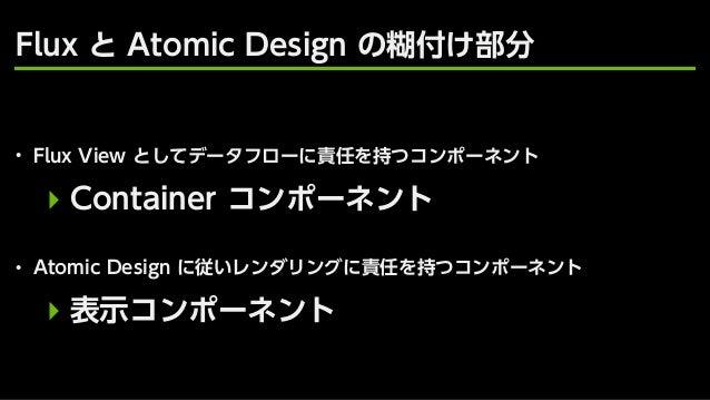 Atomic Design powered by React @ AbemaTV Slide 30