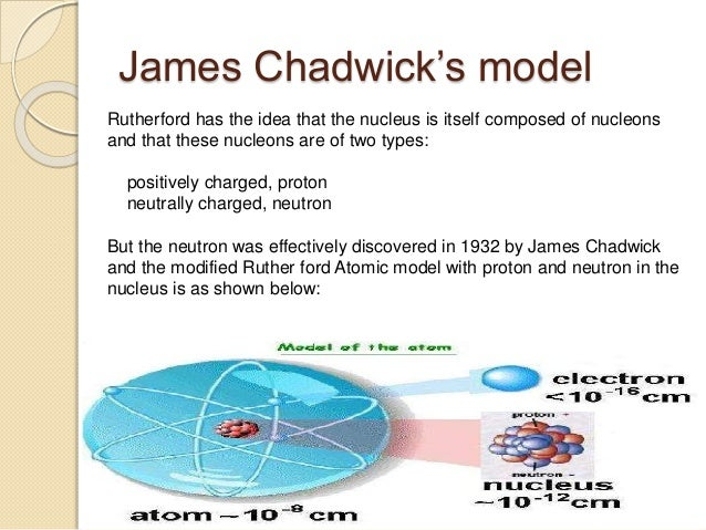james chadwick atomic model - photo #10