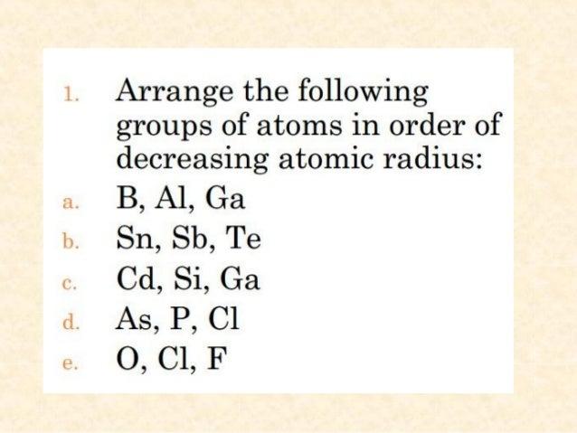 how to get atomic radius