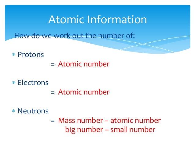 Atomic science year 10 59 how many neutrons urtaz Images