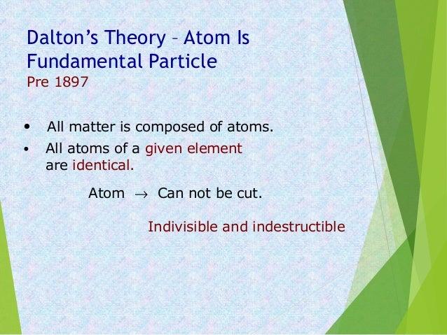 Atomic structure Slide 3