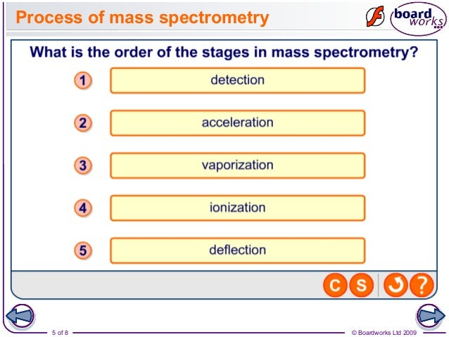 structure of the mass spectrometer A basic mass spectrometer consists of three parts: a source in which ions  ions  in a mass spectrum and determine the structure and elemental.